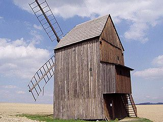 Stará Ves, větrný mlýn