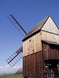 Choltice u Opavy, větrný mlýn