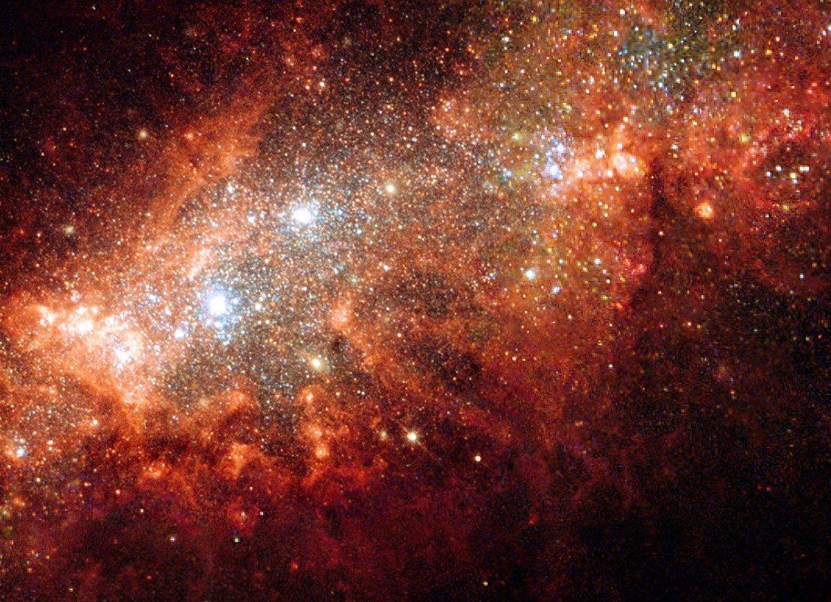 редактор фото космос воздух, оптимальная