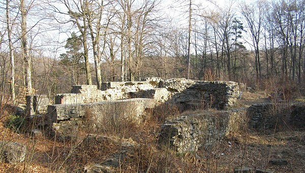 Kartouzka - ruiny kláštera