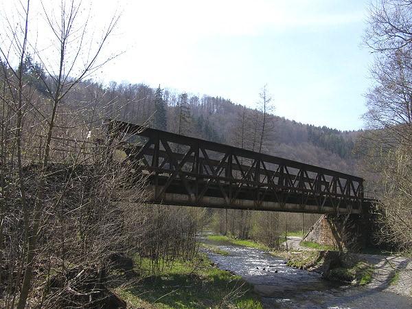 Železniční most přes Bystřici