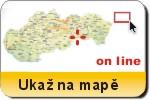 Strážovské vrchy na mapě