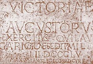 rímsky datovania pruvodce