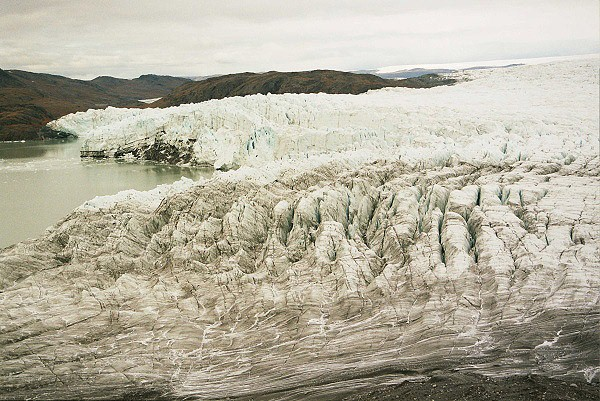 Telící se ledovec