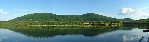 Záruby od vodní nádrže Buková