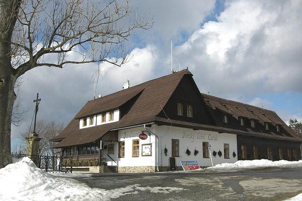 Chalupa Karolinka - Velk Karlovice - esk hory
